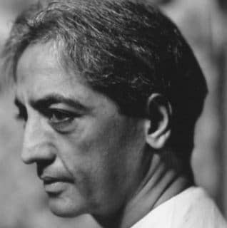 filosofo Jiddu Krishnamurti